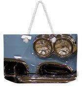 1967 Blue Corvette-front Left Weekender Tote Bag