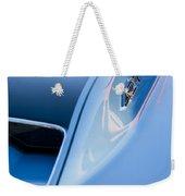 1967 Chevrolet Corvette 427 Hood Emblem 3 Weekender Tote Bag
