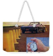 1967 Chevrolet Corvette Weekender Tote Bag