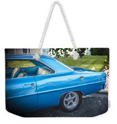 1967 Chevrolet Nova Super Sport  Weekender Tote Bag