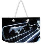1967 Ford Mustang Gt Grille Emblem Weekender Tote Bag