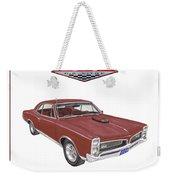1967 G T O Pontiac Weekender Tote Bag