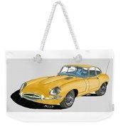1967 Jaguar X K E Coupe Weekender Tote Bag