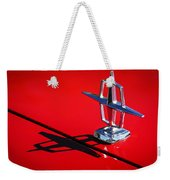 1967 Lincoln Continental Hood Ornament -1204c Weekender Tote Bag