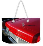 1967 Lincoln Continental Hood Ornament - Emblem -646c Weekender Tote Bag