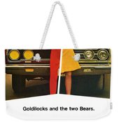 1967 Plymouth Gtx - Goldilocks And The Two Bears. Weekender Tote Bag