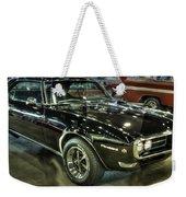 1967 Pontiac Firebird 400 Reverse Selective Color Weekender Tote Bag
