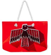 1967 Pontiac Firebird Emblem Weekender Tote Bag