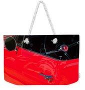1967 Pontiac Firebird Steering Wheel Emblem Weekender Tote Bag