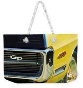 1967 Pontiac Hurst Grand Prix Convertible Grille Emblem -3569c Weekender Tote Bag
