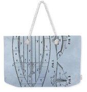 1967 Sailboat Patent Weekender Tote Bag