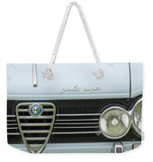 1968 Alfa Romeo Giulia Super Grille Weekender Tote Bag