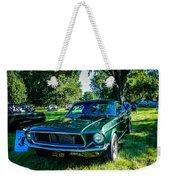 1968 Bullitt Mustang Weekender Tote Bag