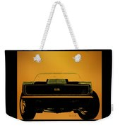 1968 Camaro Ss Head On Weekender Tote Bag