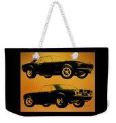 1968 Camaro Ss Side View Weekender Tote Bag