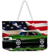 1968 Camaro Tribute Weekender Tote Bag