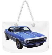 1968 Chevrolet Camaro 327 Muscle Car Weekender Tote Bag