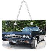 1968 Chevrolet Impala Sedan Weekender Tote Bag