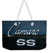 1968 Chevy Camaro Ss Logo Weekender Tote Bag