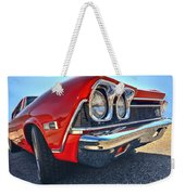 1968 Chevy Chevelle Ss 396 Weekender Tote Bag