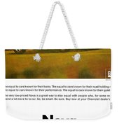 1968 Chevy Nova - The Great Equalizer Weekender Tote Bag