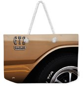 1968 Dodge Dart Gts 383 Four Barrel Weekender Tote Bag