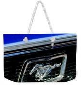 1968 Ford Mustang Cobra Gt 350 Grille Emblem Weekender Tote Bag