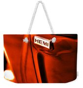 1968 Hemi Dodge Charger Weekender Tote Bag