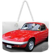 1968 Lotus - Elan S4 -  Full View Weekender Tote Bag