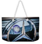 1968 Mercedes-benz 280 Sl Roadster Emblem -0919c Weekender Tote Bag
