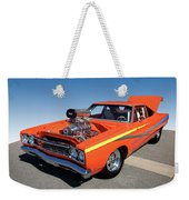 1968 Plymouth Road Runner Weekender Tote Bag