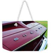 1968 Shelby Gt350 Hood Emblem Weekender Tote Bag