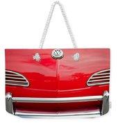 1968 Volkswagen Karmann Ghia Convertible Hood Emblem Weekender Tote Bag
