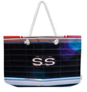 1969 Chevrolet Camaro Rs-ss Indy Pace Car Replica Grille Emblem Weekender Tote Bag