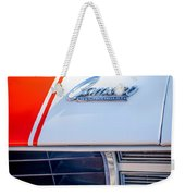 1969 Chevrolet Camaro Rs-ss Indy Pace Car Replica Hood Emblem Weekender Tote Bag