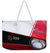 1969 Chevrolet Camaro Z28 Weekender Tote Bag