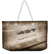 1969 Chevrolet Corvette 427 Emblem Weekender Tote Bag