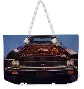 1969 Chevy Nova Ss - The Sleeper Awakes Weekender Tote Bag