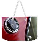 1969 Ford Mustang Mach 1 Weekender Tote Bag by Jill Reger