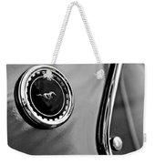 1969 Ford Mustang Mach 1 Side Emblem Weekender Tote Bag by Jill Reger