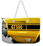 1969 Ford Shelby Mustang Gt500 Weekender Tote Bag