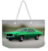 1969 L89 Camaro Weekender Tote Bag