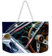 1969 Lamborghini Islero Steering Wheel Emblem Weekender Tote Bag