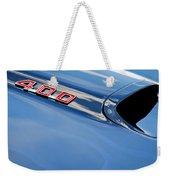 1969 Pontiac Firebird 400 Hood Weekender Tote Bag