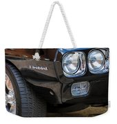 1969 Pontiac Firebird 400 Side Emblem Weekender Tote Bag