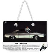 1969 Pontiac Firebird 400 - The Graduate Weekender Tote Bag