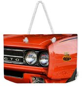 1969 Pontiac Gto The Judge Weekender Tote Bag