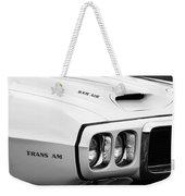 1969 Pontiac Trans Am  Weekender Tote Bag