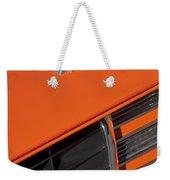 1969 Rs-ss Chevrolet Camaro Grille Emblem Weekender Tote Bag