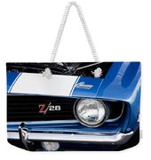 1969 Z28 Camaro Real Muscle Car Weekender Tote Bag